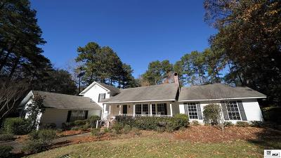 Ruston Single Family Home For Sale: 1120 Brookhaven Avenue