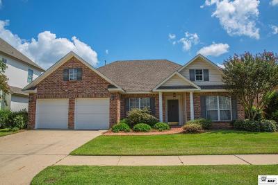 Monroe Single Family Home For Sale: 3108 Monteigne Circle