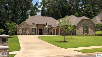 West Monroe Single Family Home For Sale: 115 Versailles Boulevard