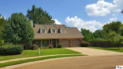 Ruston Single Family Home For Sale: 2214 Beauregard Street
