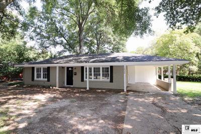 Monroe Single Family Home New Listing: 1606 Frances Place
