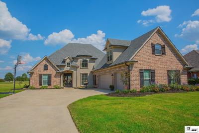 Monroe Single Family Home Active-Pending: 1398 Frenchmans Bend Road
