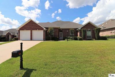 West Monroe Single Family Home Active-Pending: 212 Nottaway Drive