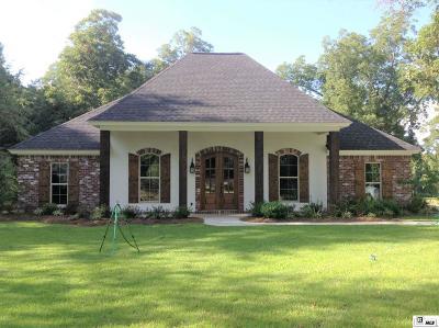 West Monroe Single Family Home For Sale: 105 Frantom Lane