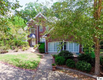 West Monroe Single Family Home For Sale: 201 Comanche Trail