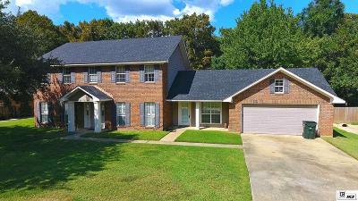West Monroe Single Family Home For Sale: 211 Tupawek Drive
