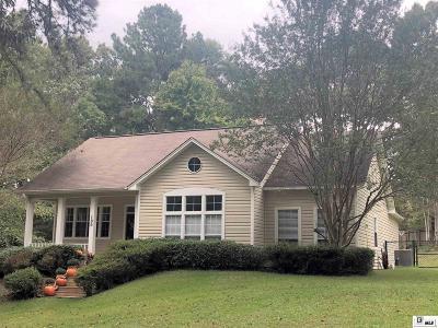 West Monroe Single Family Home Active-Pending: 100 Iron Gate Lane