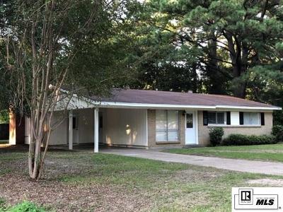 Monroe Single Family Home New Listing: 309 Curve Drive