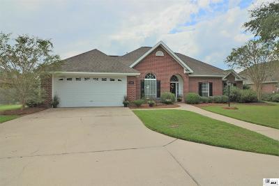 Monroe Single Family Home Active-Pending: 130 Bayou Bend Road