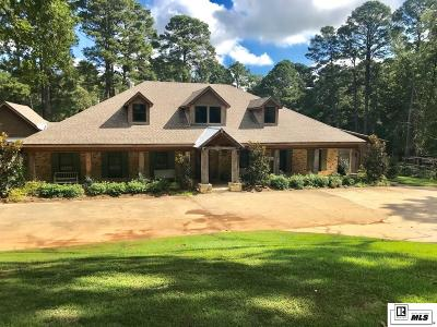 West Monroe Single Family Home For Sale: 109 Yellowwood Drive