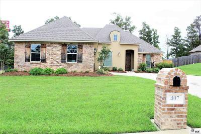 West Monroe Single Family Home Active-Pending: 407 Austin Oaks Circle