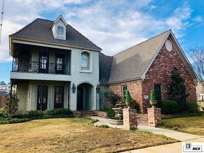 Monroe Single Family Home For Sale: 2302 Maison Orleans Boulevard