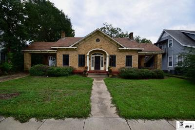 Ruston Single Family Home For Sale: 504 N Trenton Street