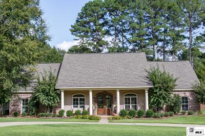 Ruston Single Family Home For Sale: 2502 Lovers Lane