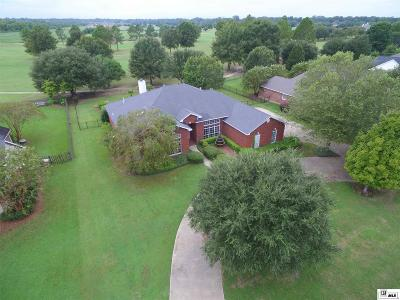 Monroe Single Family Home For Sale: 1510 Frenchmans Bend Road