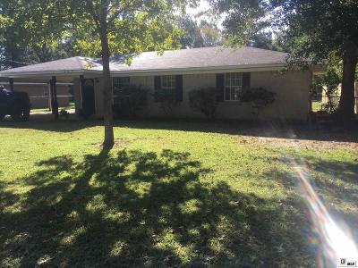 West Monroe Single Family Home Active-Pending: 317 Walters Street