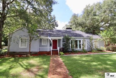 Ruston Single Family Home For Sale: 806 Jessamine Street