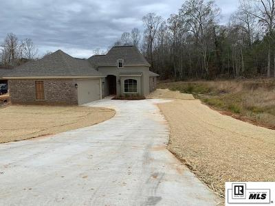 West Monroe Single Family Home For Sale: 119 Temecula Drive