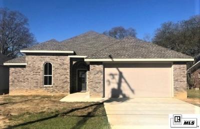 West Monroe Single Family Home For Sale: 111 Lomaland Drive