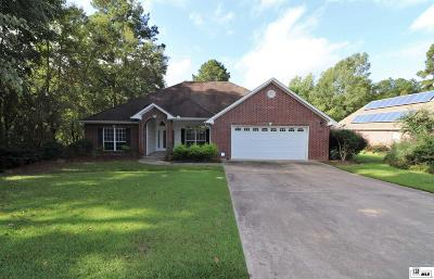 West Monroe Single Family Home Active-Contingent 48 Hrs: 110 Lasalle Circle