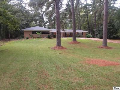 West Monroe Single Family Home New Listing: 903 Dean Chapel Road