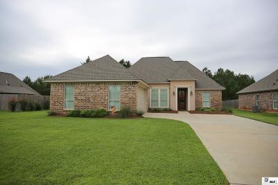 Ruston Single Family Home For Sale: 117 Godchaux