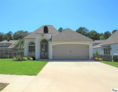 West Monroe Single Family Home New Listing: 105 Zaza Lane