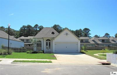 West Monroe Single Family Home New Listing: 107 Zaza Lane