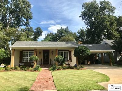 Monroe Single Family Home For Sale: 2310 Myrtle Street