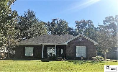 West Monroe Single Family Home For Sale: 107 Stonecliff Drive