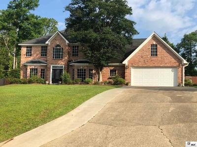 West Monroe Single Family Home Active-Contingent: 105 Bayside Drive