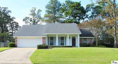 West Monroe Single Family Home For Sale: 113 Landreaux Drive