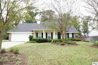 West Monroe Single Family Home For Sale: 110 Pin Oak Drive