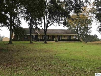 West Monroe Single Family Home For Sale: 300 Mount Vernon Church Road