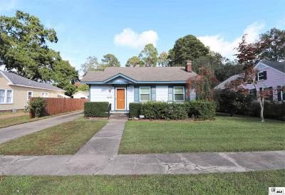 Monroe Single Family Home New Listing: 2306 Hawthorne Street