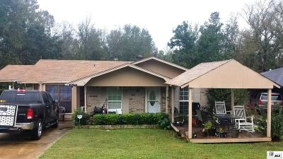 Ruston Single Family Home For Sale: 1710 Skyline Drive
