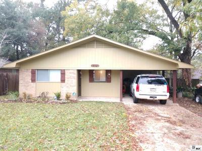 West Monroe Single Family Home New Listing: 112 Hillside Circle