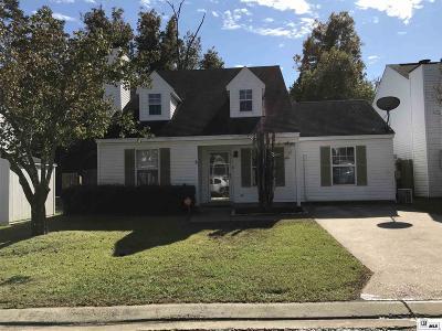 West Monroe Single Family Home New Listing: 115 Sonoma Circle