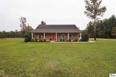 West Monroe Single Family Home New Listing: 890 Rogers Road