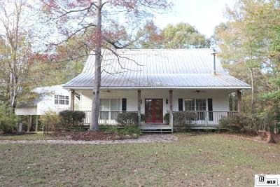 West Monroe Single Family Home New Listing: 450 Sam Head Road
