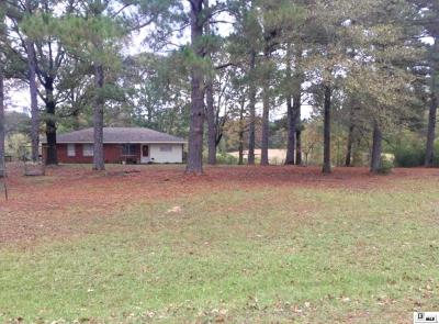 West Monroe Single Family Home New Listing: 2309 Philpot Road