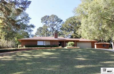 West Monroe Single Family Home New Listing: 207 Western Avenue