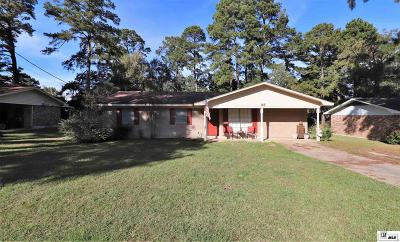 West Monroe Single Family Home New Listing: 107 Crestview Drive
