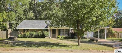 Ruston Single Family Home For Sale: 503 S Sparta Street