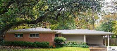 Monroe Single Family Home For Sale: 1808 Spencer Avenue