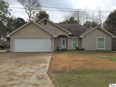 Monroe Single Family Home For Sale: 316 Camellia Drive