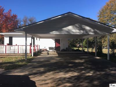 Jackson Parish Single Family Home Active-Pending: 636 7th Street