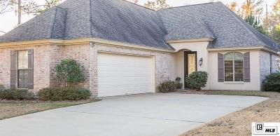 West Monroe Single Family Home For Sale: 607 Janna Drive