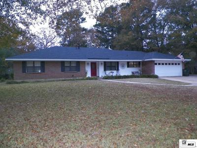 West Monroe Single Family Home For Sale: 129 Sunset Drive