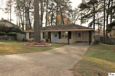 West Monroe Single Family Home Active-Pending: 214 Forest Hill Road